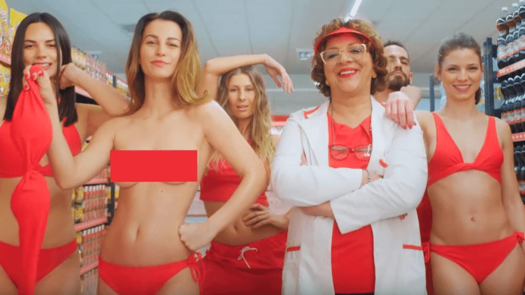 cba szexista piros reklam