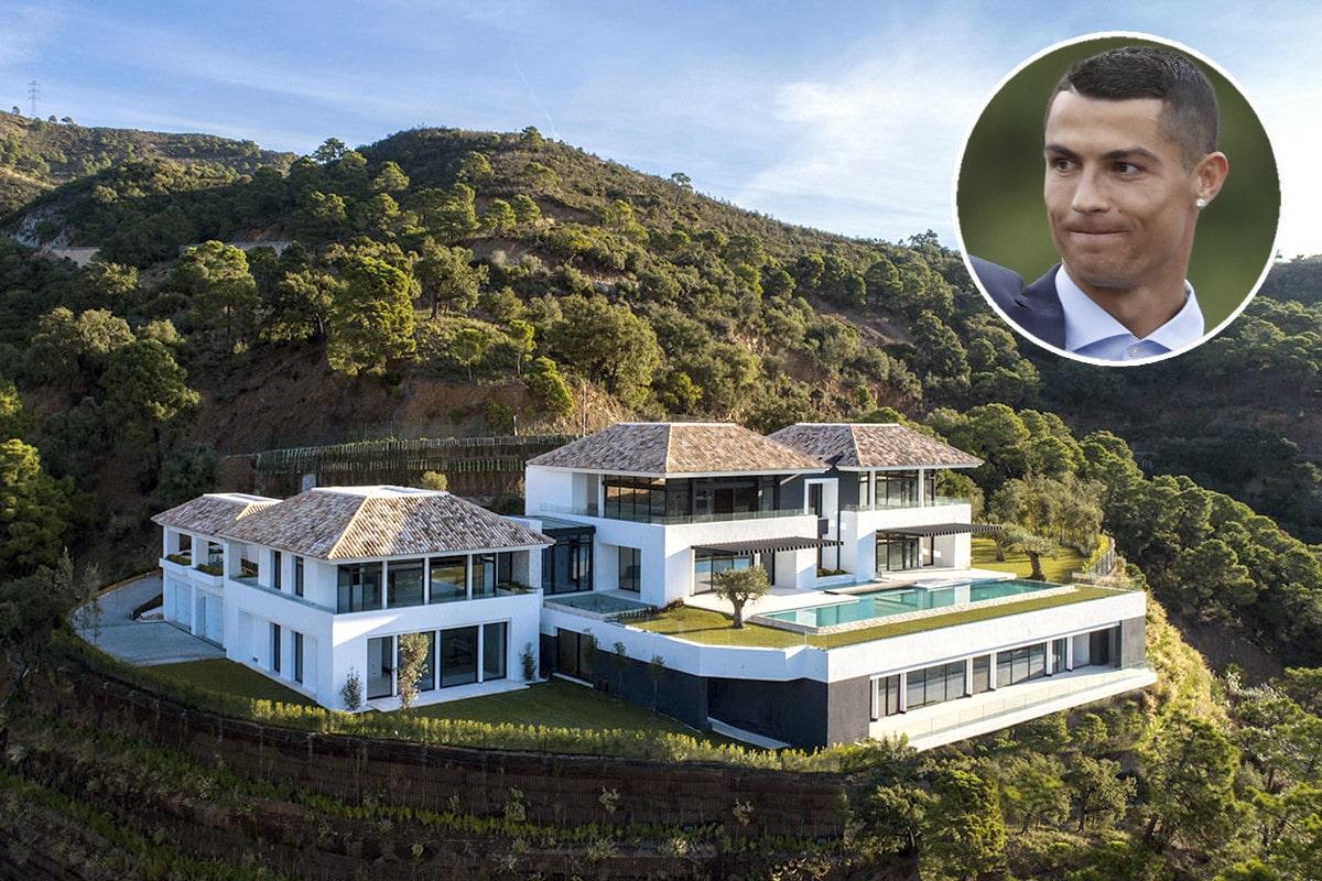 Cristiano Ronaldo Otthona Madeirai