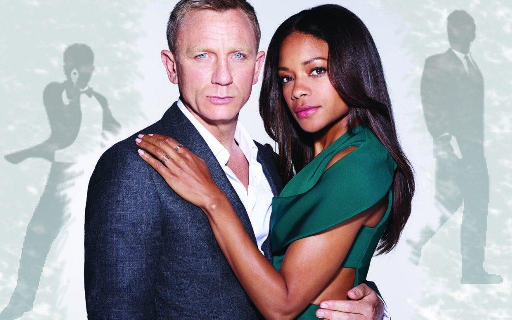 Daneil Craig Naomie Harris 25 James Bond Film