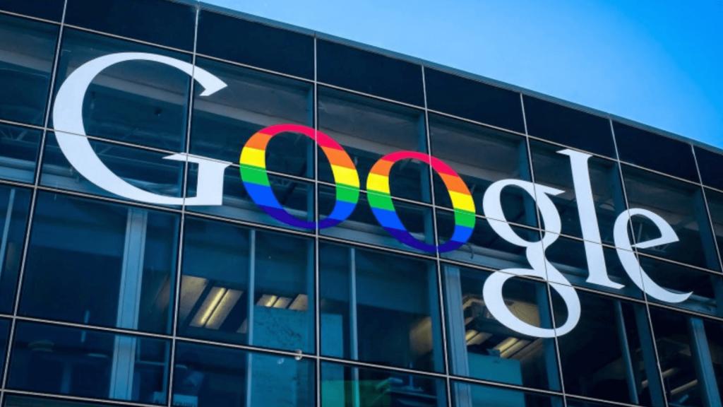 google logoja pride