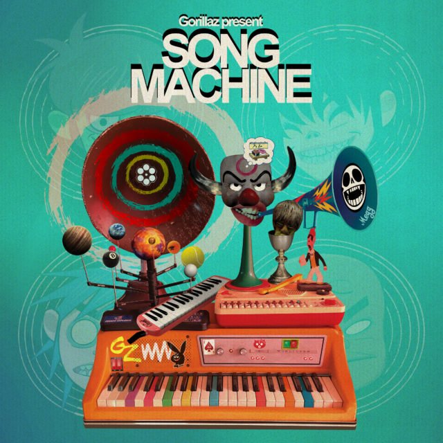 gorillaz song machine