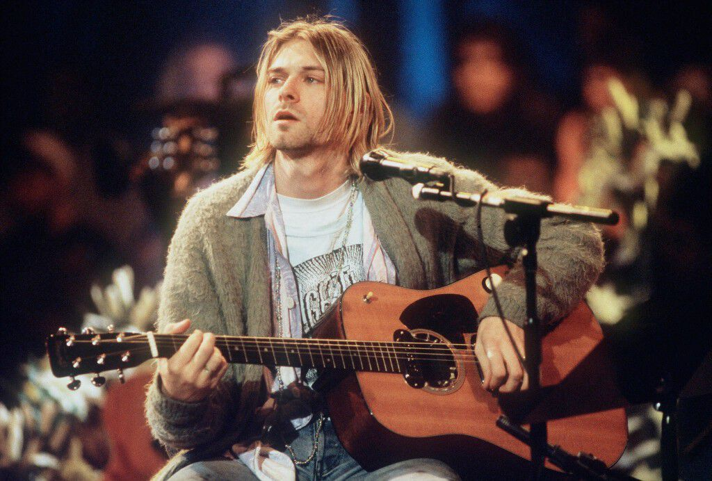 kurt cobain nirvana mtv unplugged new york
