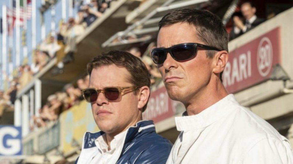 Matt Damon Christian Bale Ford V Ferrari