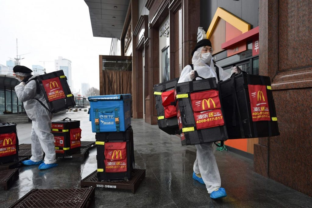 mcdonalds hamburger recept koronavirus karanten