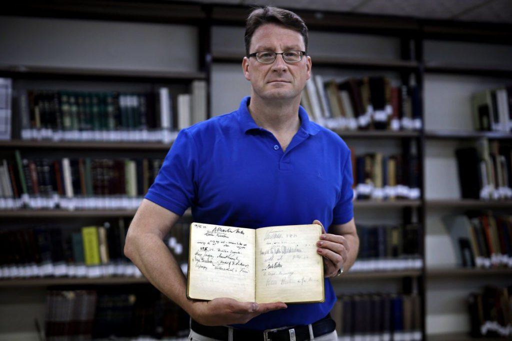 Naci Vezetok Alairas Izraeli Vendegkonyv Zsidokerdes Stefan Litt
