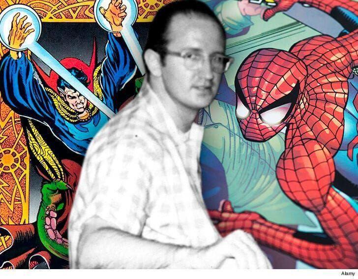 Steve Ditko Spiderman Doctor Strange Fb Alamy 5