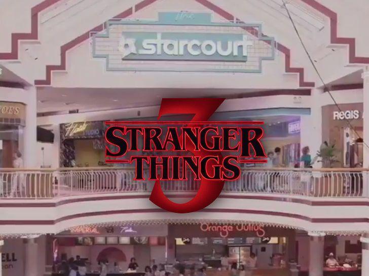 Stranger Things 3 Plaza Elado Stranger Things 4