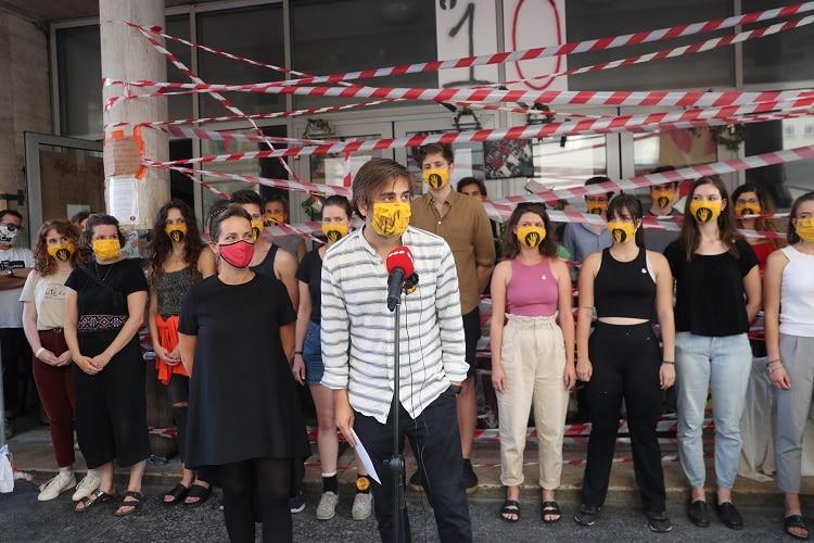 szfe sztrajk blokad sajtotajekoztato szinmuveszeti egyetem vidnyanszky attila ultimatum
