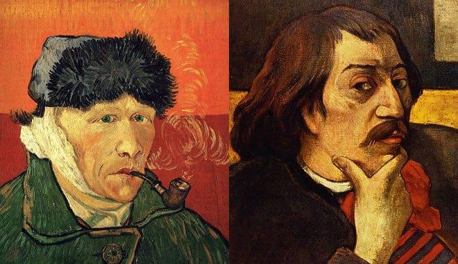 vincent van gogh paul gauguin levele
