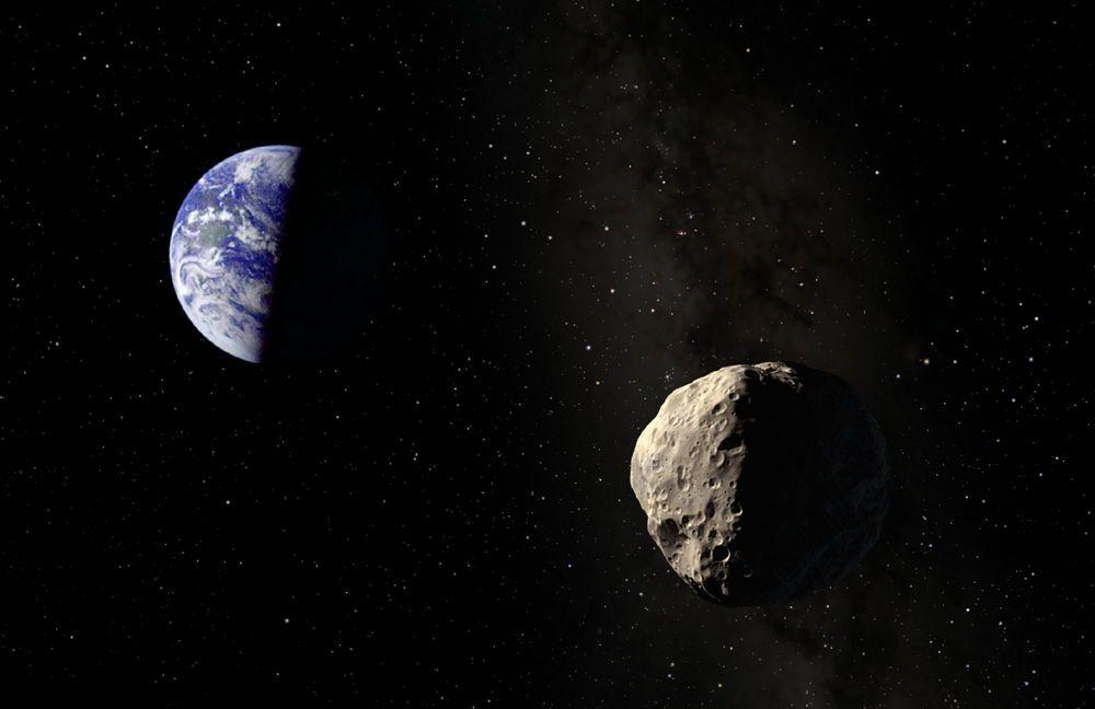 Apophis aszteroida foldbe csapodik