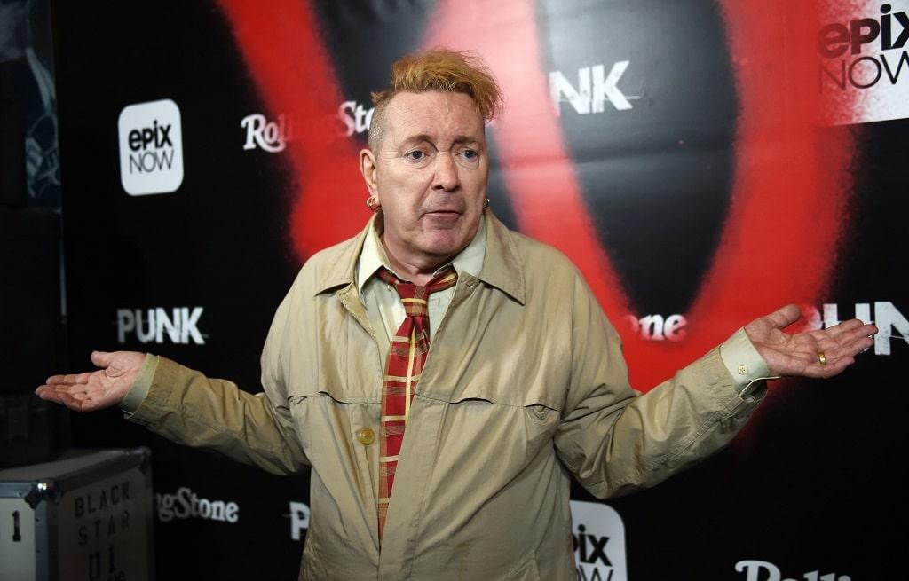 Johnny Rotten sex pistols mokusok bolhas