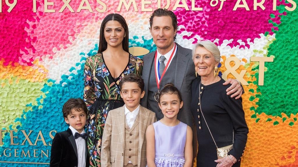 Matthew McConaughey gyerekei felesege