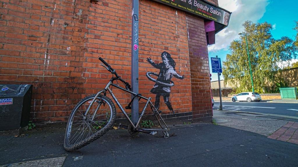 banksy bicikli nottingham 1