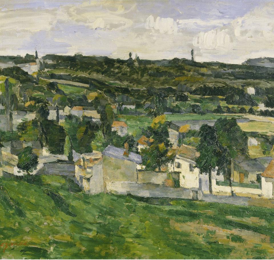 Cezanne Auvers Sur Oise Ellopott Kep