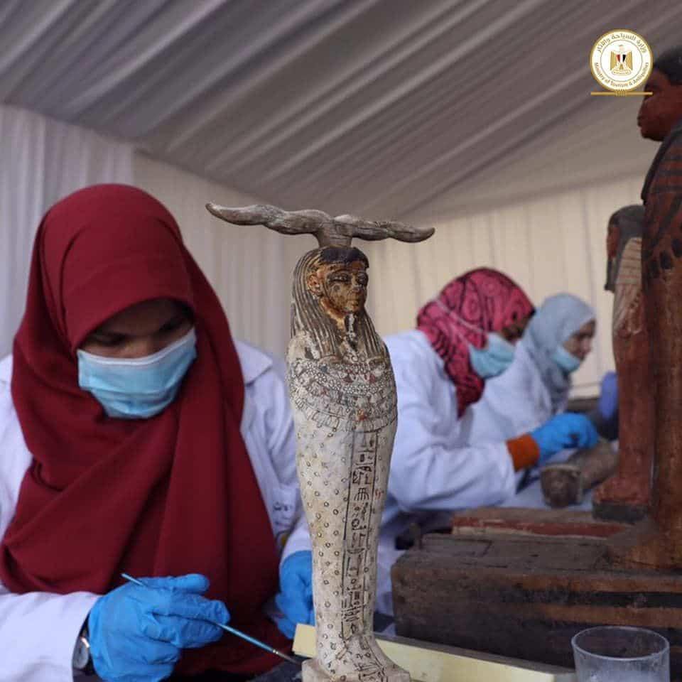 egyiptom szarkofagok