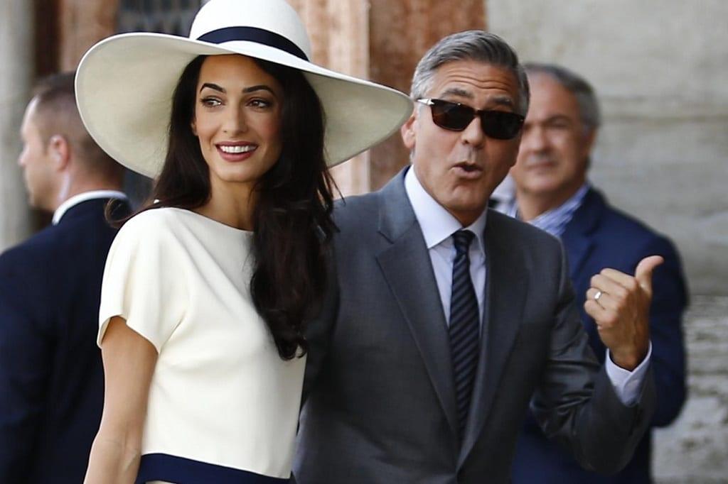 George Clooney Felesege Amal Alamuddin