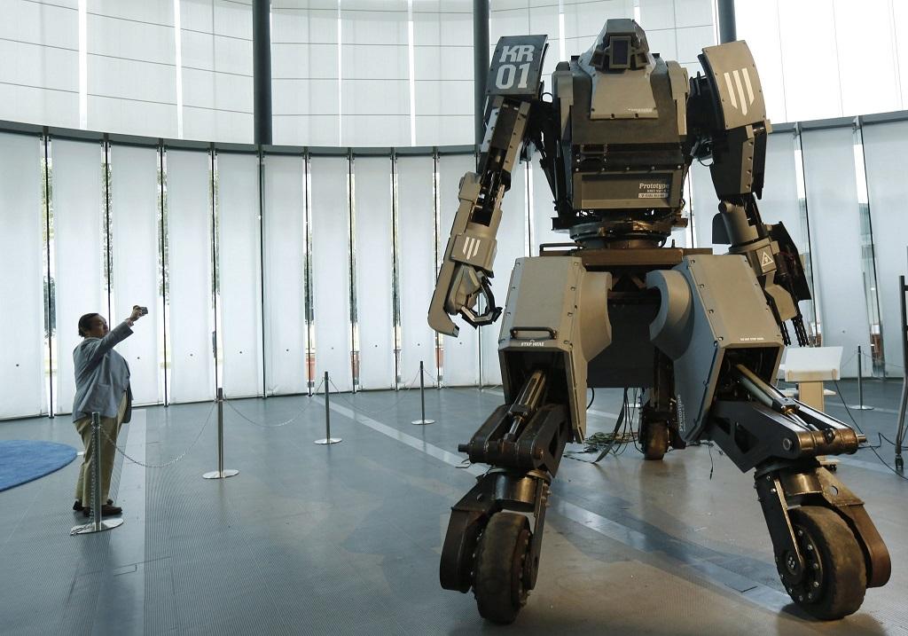 Intelligens Harci Robot Haboru