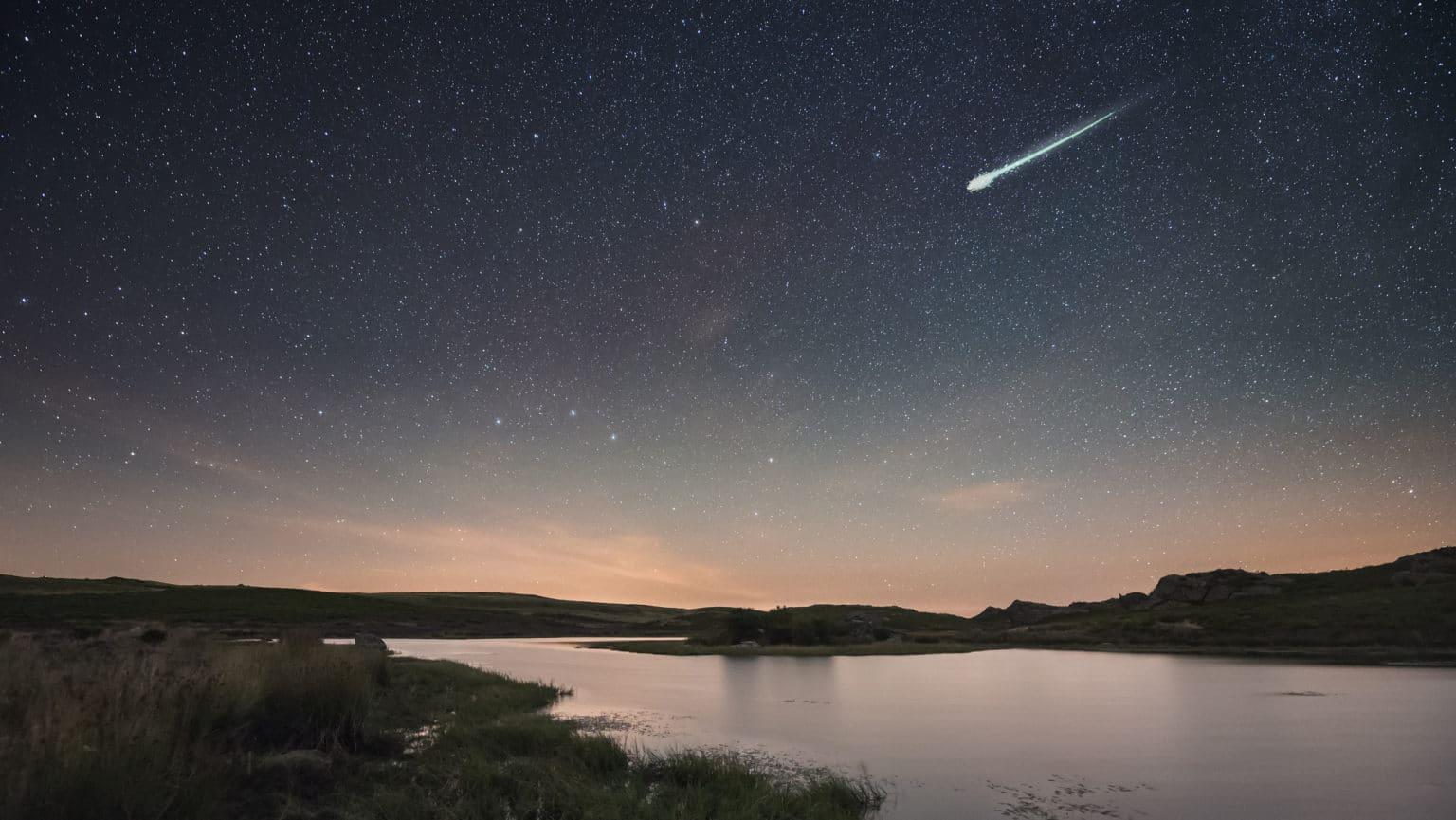 Meteor Tuzgomb Az Egen