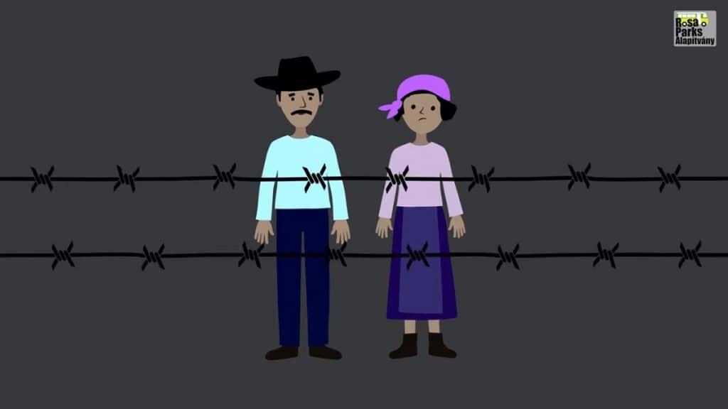 Romak Eloiteletesseg Roma Holokauszt Animacio Rosa Parks Alapitvany
