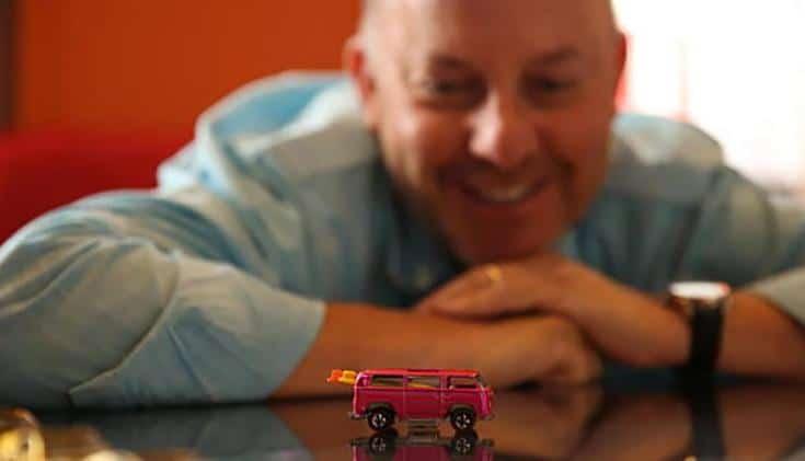 Bruce Pascal legdragabb hot wheels kisauto