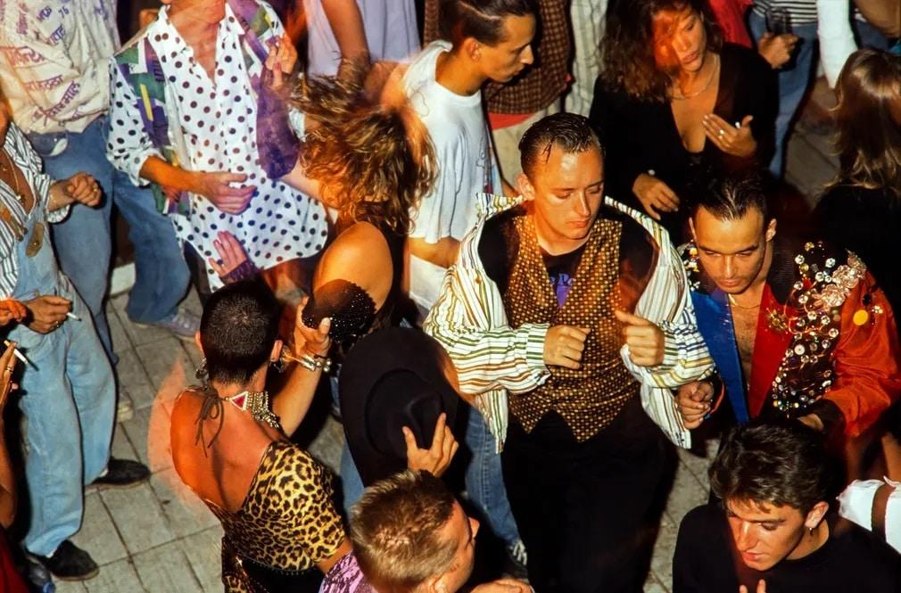 Boy George Culture Club Ibiza Party Fotoriport Nap Fotoja