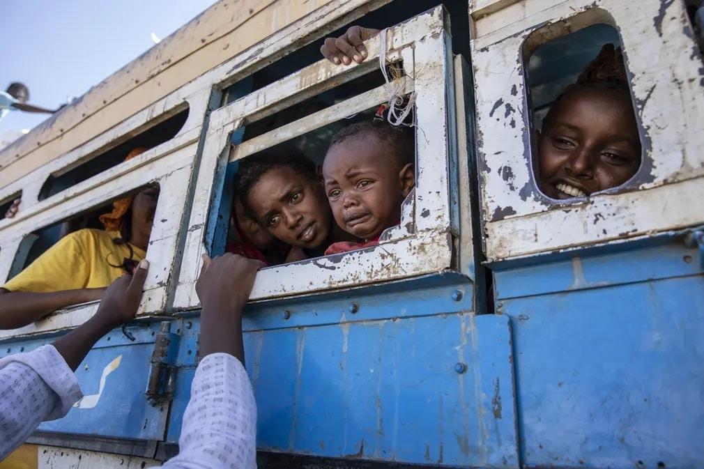 Etiopia Szudan Aftika Menekultek Nap Fotoja
