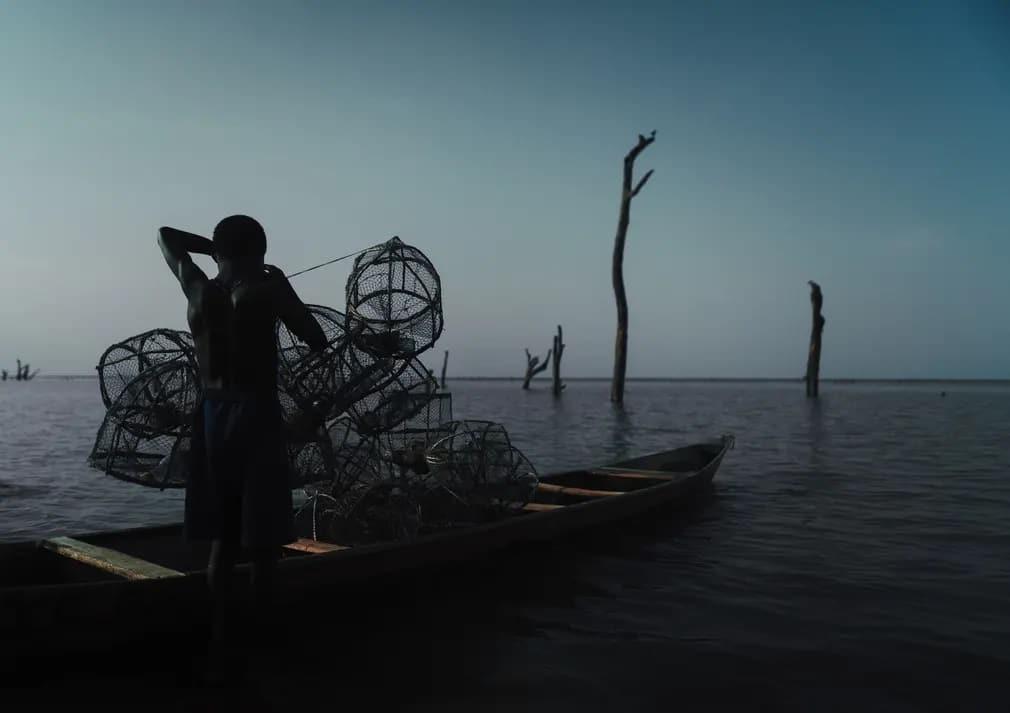 Ghana Volta Jeremy Snell Erdo Nap Fotoja
