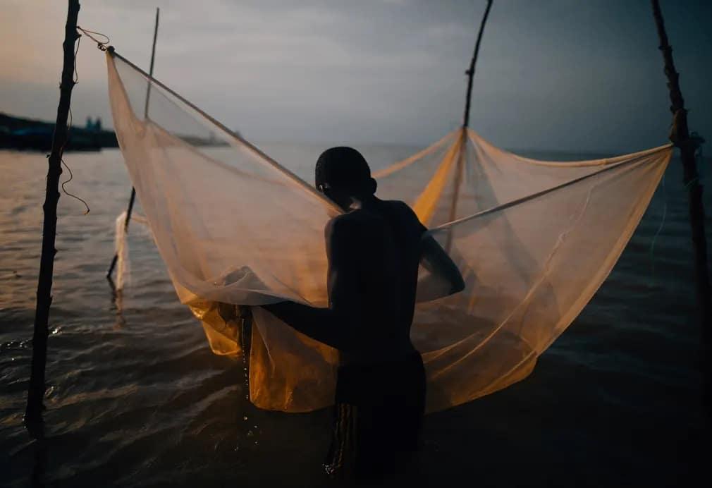 Ghana Volta Jeremy Snell Fiu Halasz Nap Fotoja