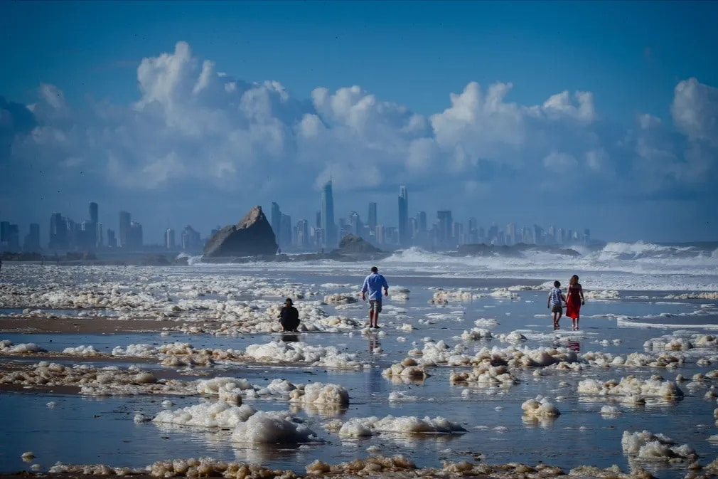 Gold Coast Australia Idojaras Nap Fotoja