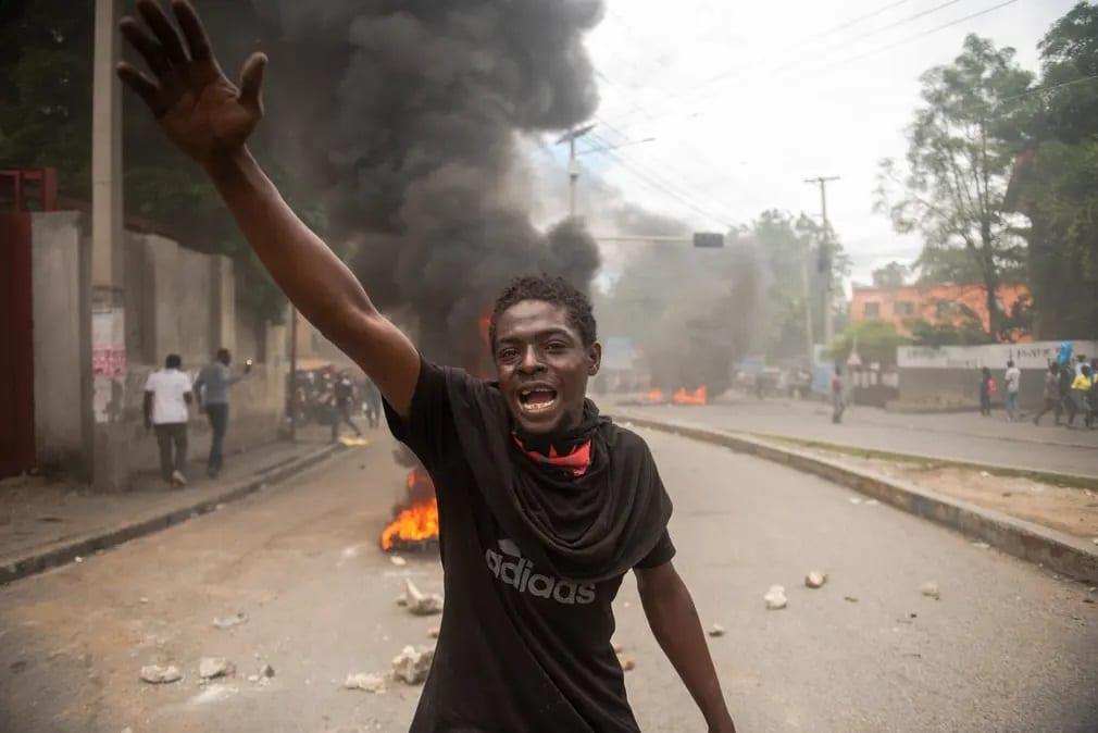 Haiti Emberi Jogok Tuntetes Nap Fotoja