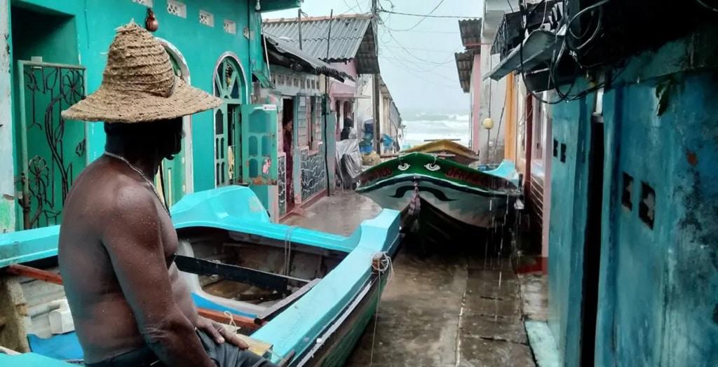 Halasz Sri Lanka Ciklon Fotoriport Nap Fotoja
