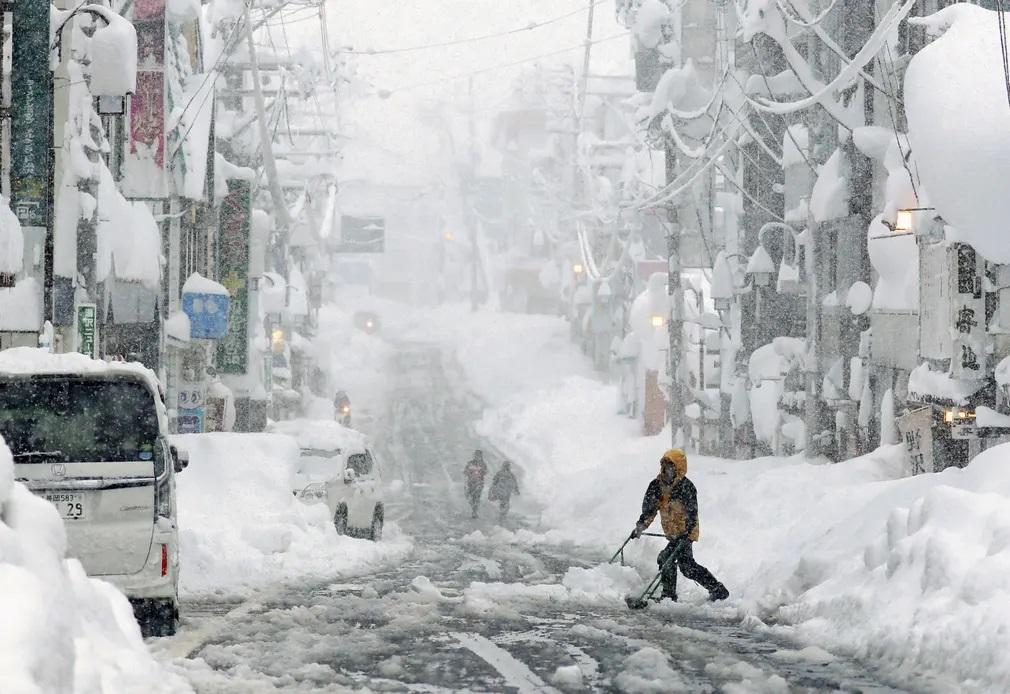 Hovihar Havazas Ho Japan Tel Idojaras Nap Fotoja