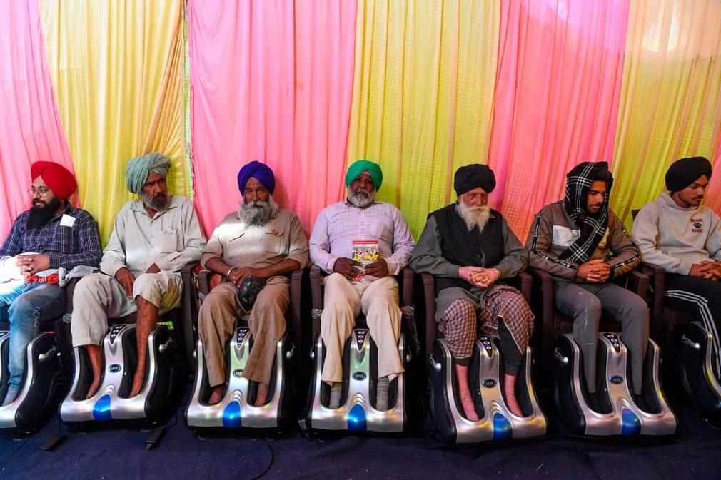 India Labmasszazs Tuntetes Nap Fotoja