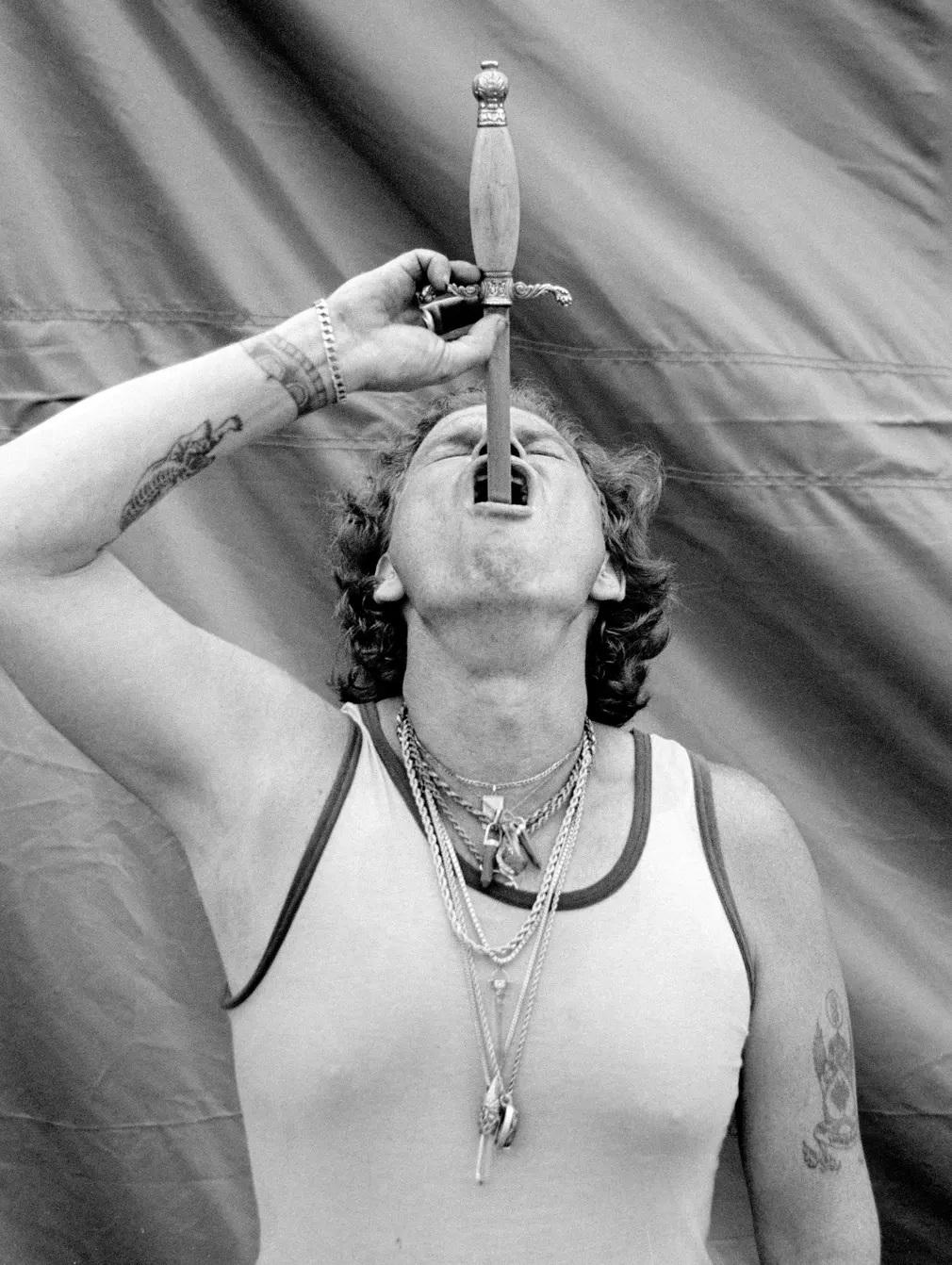 Kardnyelo Cirkusz Mutatvanyos Clayton Anderson Nap Fotoja