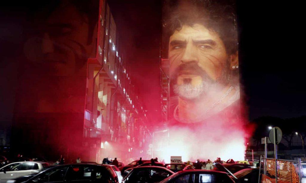 Maradona Kultusz Napoly