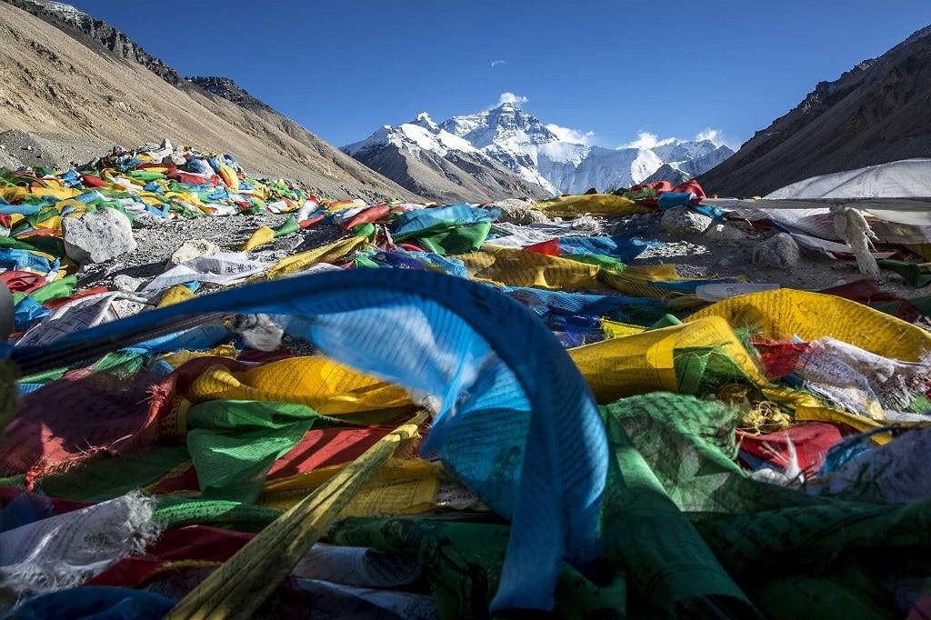 Mount Everest Bazis Tabor Sator Ho Hegyseg