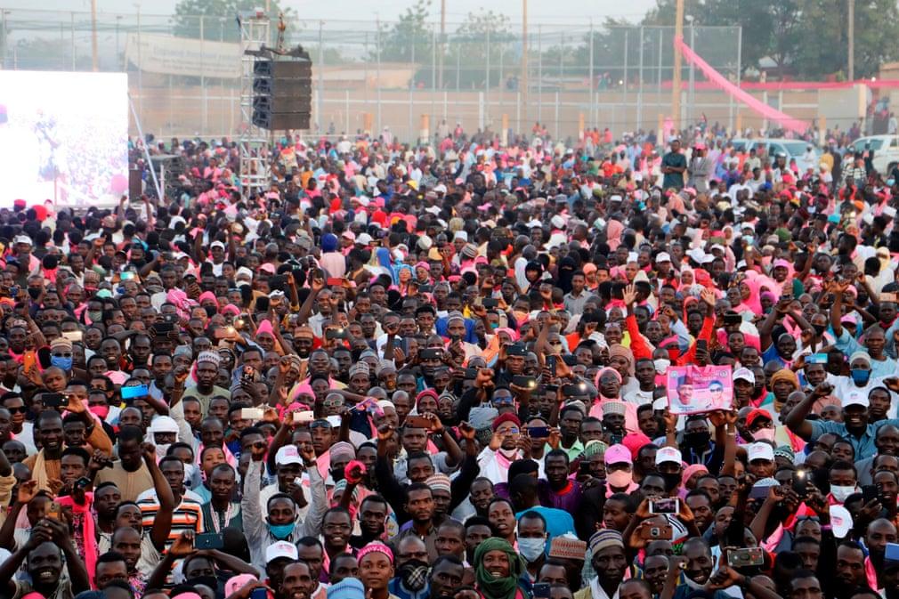 Niger Mohamed Bazoum Elnokvalasztas Tomeg Nap Fotoja