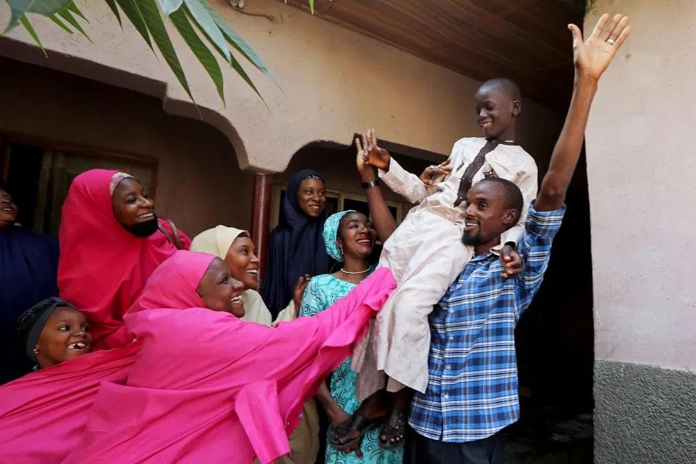 nigeria csalad muhammed bello emberrablas unneples nap fotoja