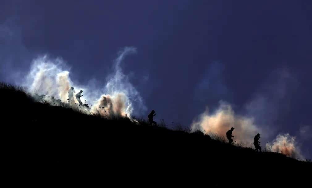 Palesztina Izrael Bet Dajan Tuntetes Nap Fotoja