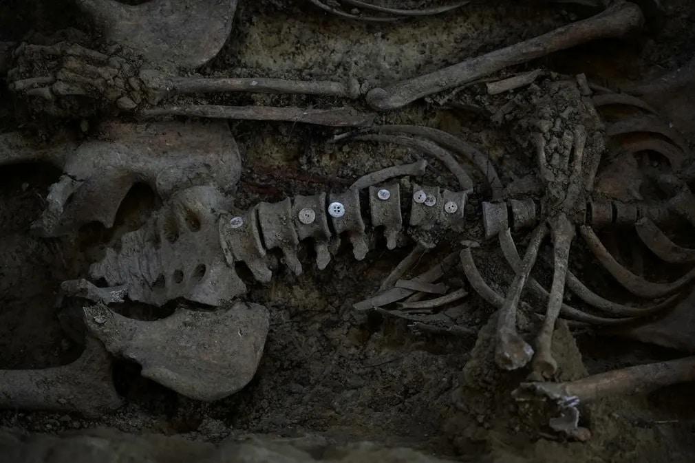 Spanyolorszag Csontvaz Archeologia Regeszet Lelet Nap Fotoja