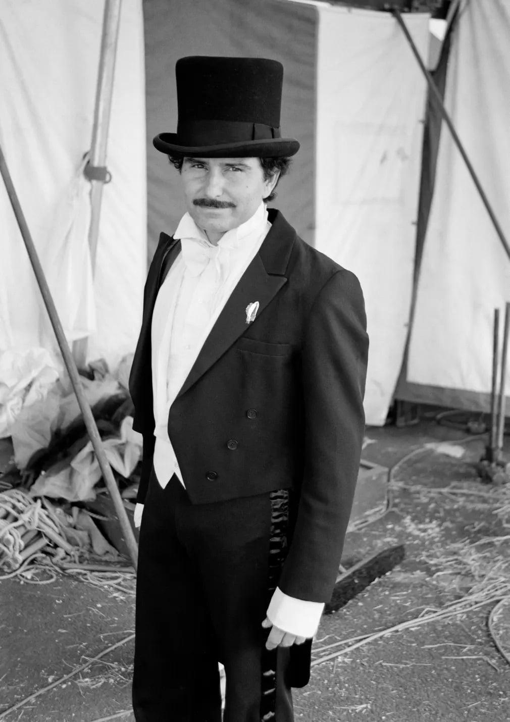 Tino Wallenda Porondmester Mutatvanyos Cirkusz Nap Fotoja