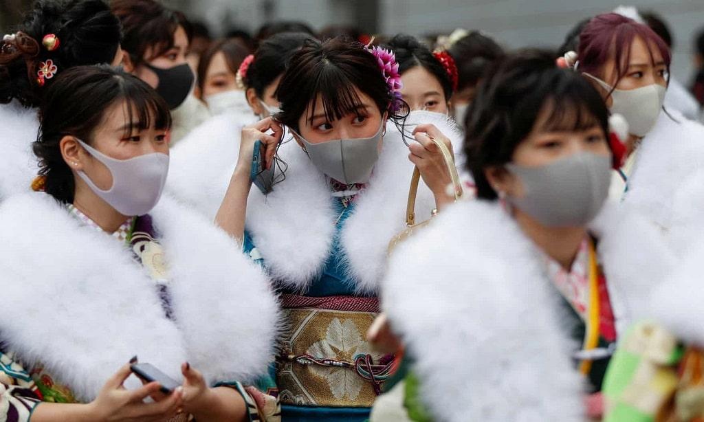 A Felnottevalas Napja Japan