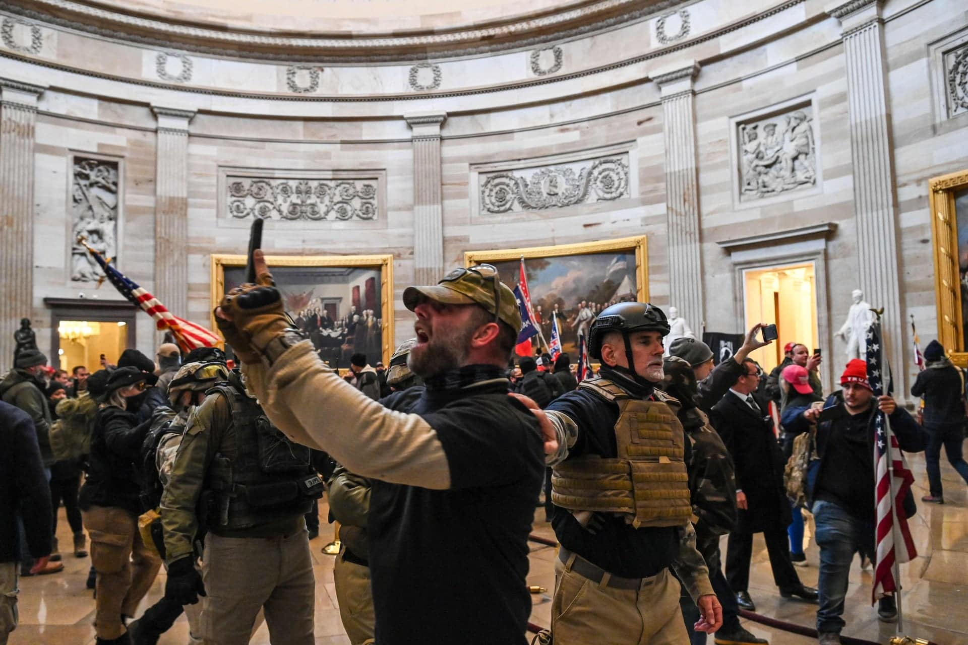 amerikai tuntetes capitolium kongresszus donald trump