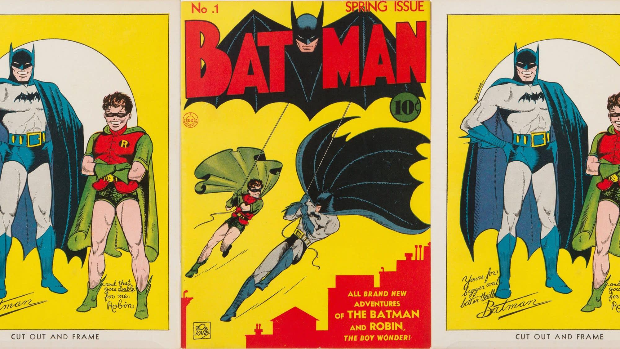 batman es robin kepregeny 1940 aukcio