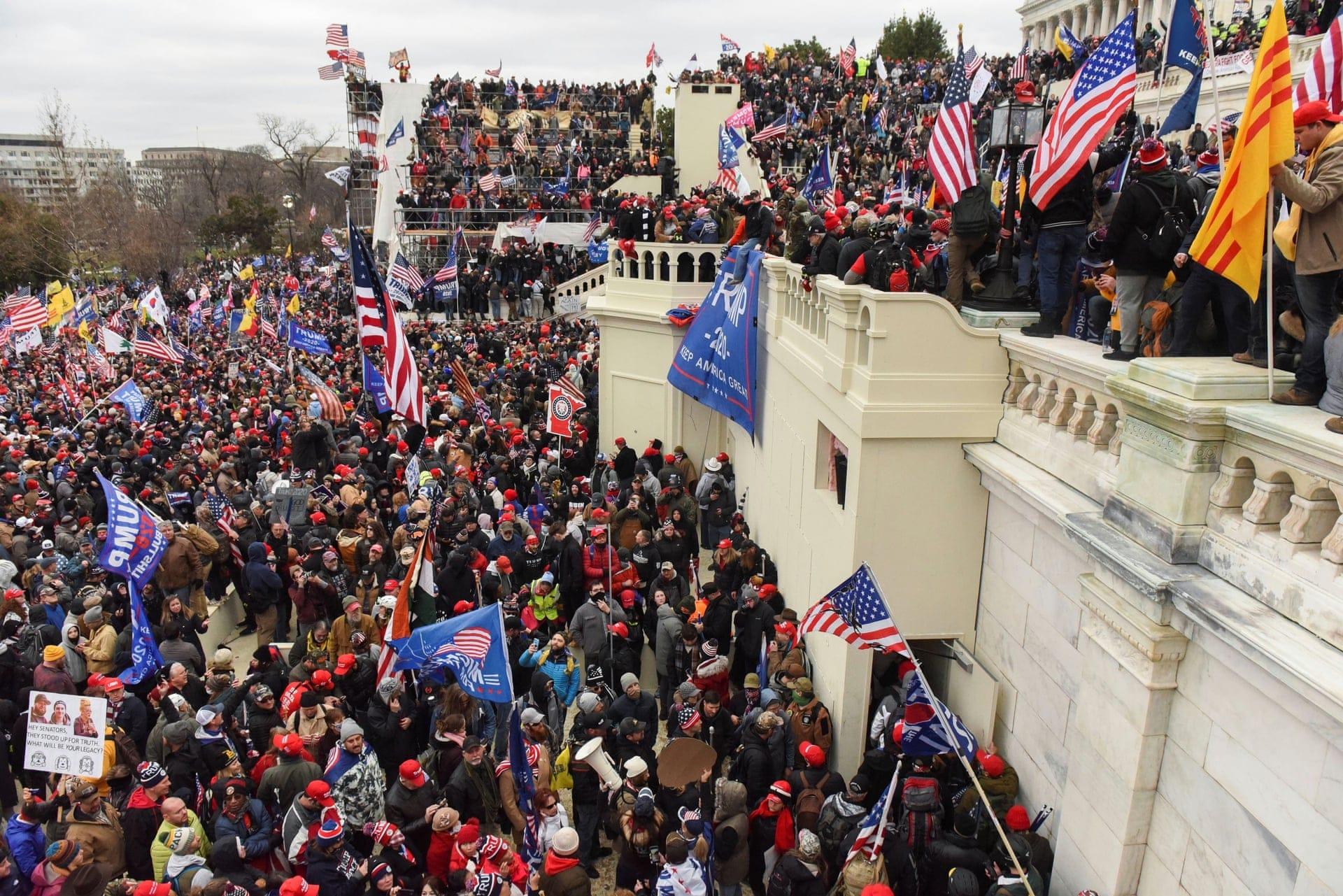 capitolium kongresszus amerikai tuntetes donald trump