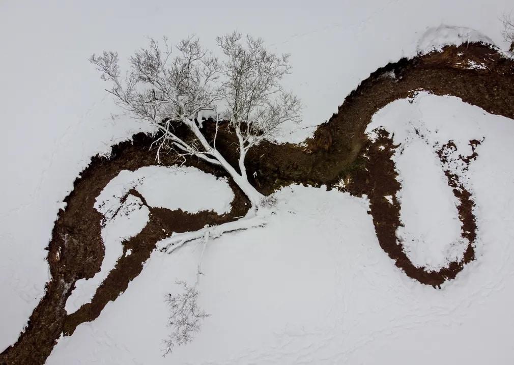 frankfurt fa havazas patak nap fotoja