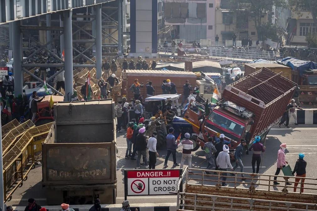 india tuntetes termelok rendorseg koztarsasag unnep nap fotoja