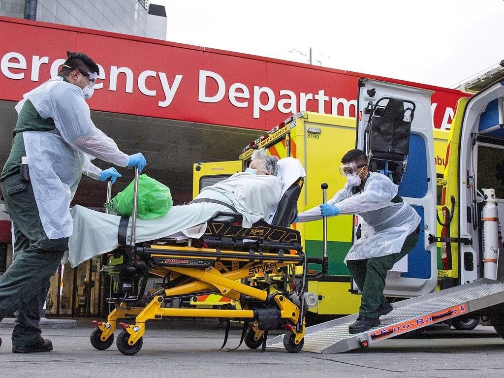Koronavirus London Korhazak Megteltek