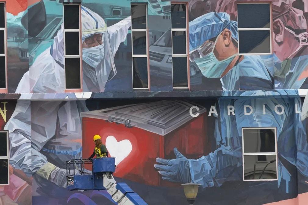 malajzia falfestmeny koronavirus egeszsegugy munkas nap fotoja