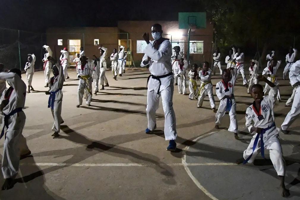 Niger Olimpikon Taekwando Olimpia Tokyo Nap Fotoja